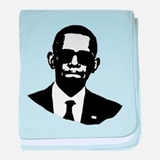 Shady Obama baby blanket