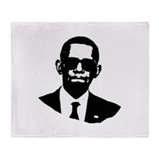 Shady Obama Throw Blanket