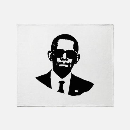 Shady Obama Throw Blanket
