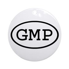 GMP Oval Ornament (Round)