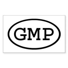 GMP Oval Rectangle Decal