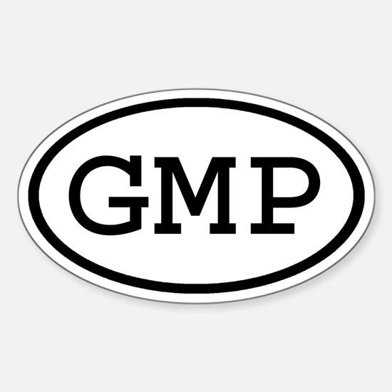 GMP Oval Oval Decal