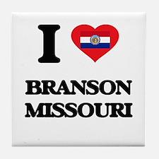 I love Branson Missouri Tile Coaster