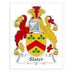Slater Family Crest Small Poster