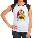 Slater Family Crest Women's Cap Sleeve T-Shirt