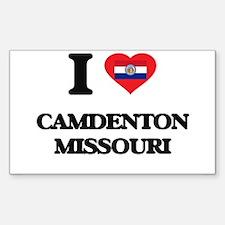 I love Camdenton Missouri Decal