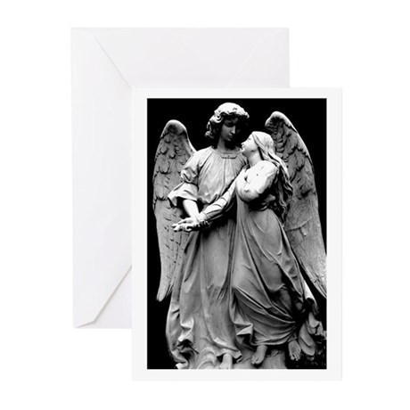 Stone Angels Greeting Cards (Pk of 10)