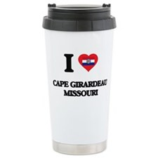 I love Cape Girardeau M Travel Coffee Mug