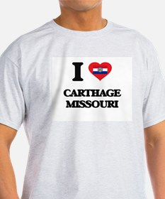 I love Carthage Missouri T-Shirt