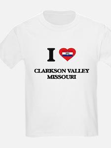 I love Clarkson Valley Missouri T-Shirt
