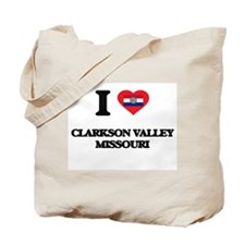 I love Clarkson Valley Missouri Tote Bag