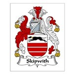 Skipwith Family Crest Small Poster