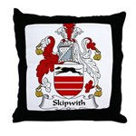 Skipwith Family Crest Throw Pillow
