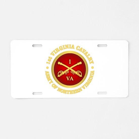 1st Virginia Cavalry Aluminum License Plate