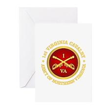 1st Virginia Cavalry Greeting Cards