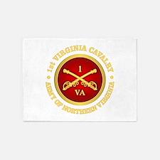 1st Virginia Cavalry 5'x7'Area Rug
