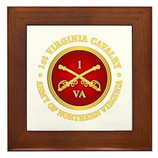 1st Virginia Cavalry Framed Tile