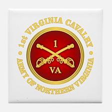 1st Virginia Cavalry Tile Coaster