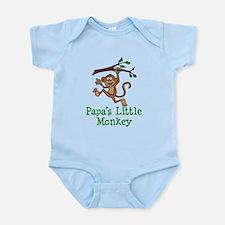 Papa's Little Monkey Body Suit