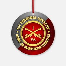 1st Virginia Cavalry Ornament (Round)