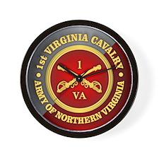 1st Virginia Cavalry Wall Clock