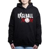 Baseball mom Hooded Sweatshirt