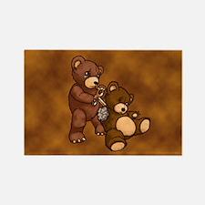 Broken Teddy Magnet