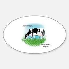 Meat Lover Sticker (Oval)
