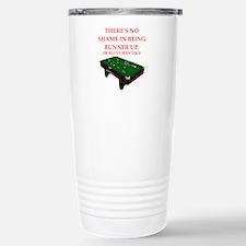 billiards joke Travel Mug