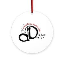 Dillon Design Ornament (Round)