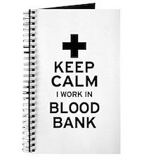 Keep Calm Blood Bank Journal