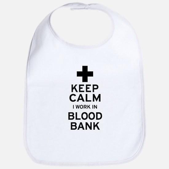Keep Calm Blood Bank Bib