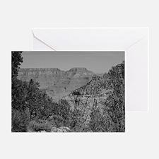 Grand Canyon B&W Greeting Card