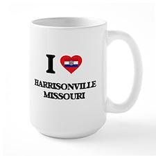 I love Harrisonville Missouri Mugs