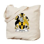 Simeon Family Crest Tote Bag
