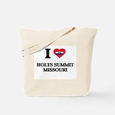 I love Holts Summit Missouri Tote Bag