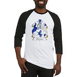Silvester Family Crest Baseball Jersey