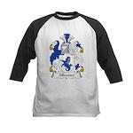 Silvester Family Crest Kids Baseball Jersey