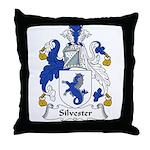 Silvester Family Crest Throw Pillow