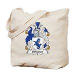 Silvester Family Crest Tote Bag