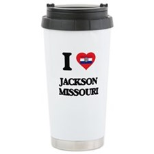 I love Jackson Missouri Travel Coffee Mug