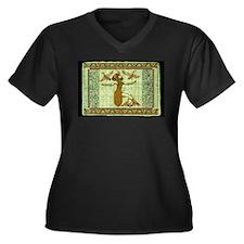 Cleopatra Enters Rome Plus Size T-Shirt