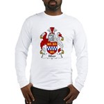 Silver Family Crest Long Sleeve T-Shirt