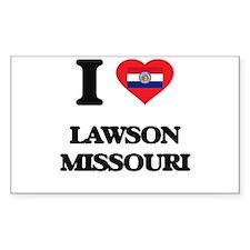 I love Lawson Missouri Decal