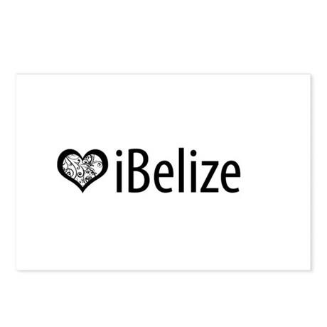 iBelize Postcards (Package of 8)