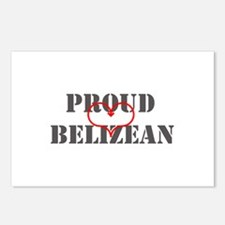 Proud Belizean Postcards (Package of 8)