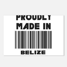Proudly made in Belize Postcards (Package of 8)