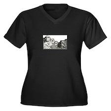 Mount Rushmore Plus Size T-Shirt