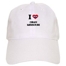 I love Oran Missouri Baseball Cap