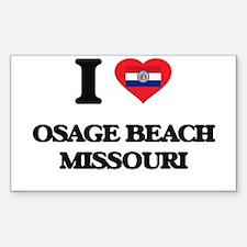 I love Osage Beach Missouri Decal